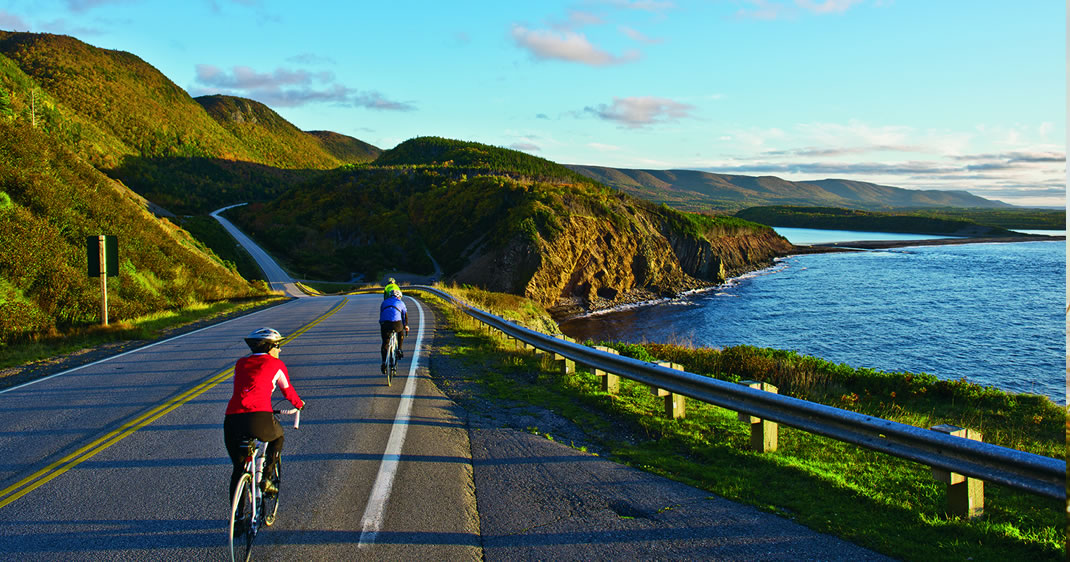Cabot Trail Biking